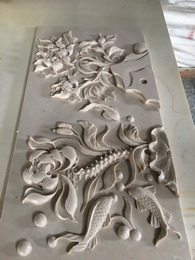 Custom make natural stone classic style for interior decoration carving stone for wall
