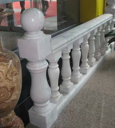 China directly marble factory price natural stone interior decorative hand carved columns