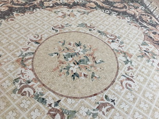 Flooring design custom-made stone mosaic pattern tile for hotel ,villa project